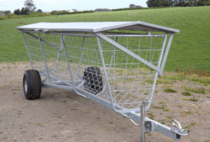 troughMOBILE mobile hay rack